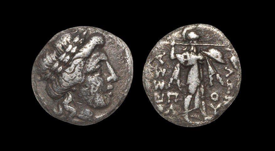 Greek Thessaly - Thessalian League - Apollo and Athena