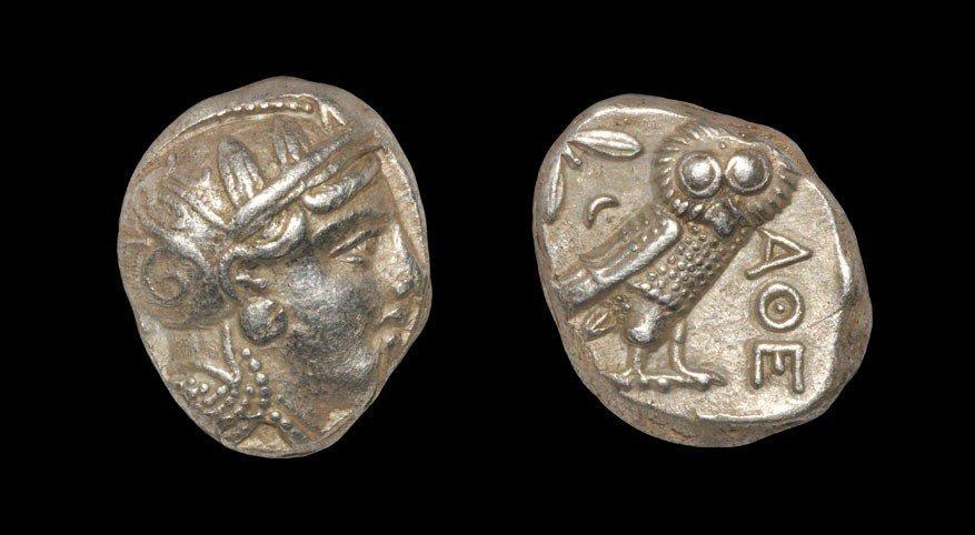 Greek Athens - Owl Tetradrachm