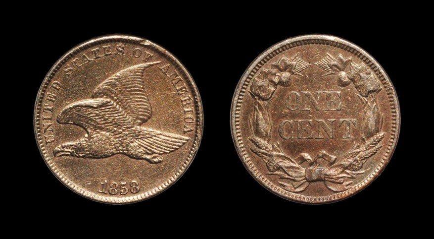 United States - 1858 - Flying Eagle Cent