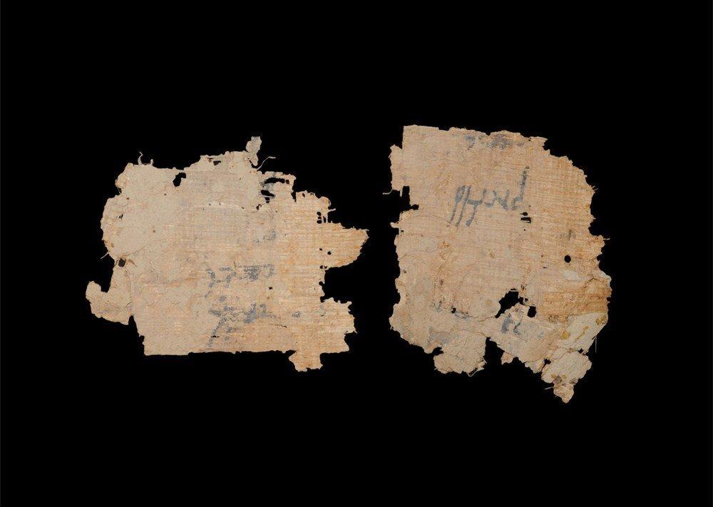 Egyptian Paryrus Fragment Group