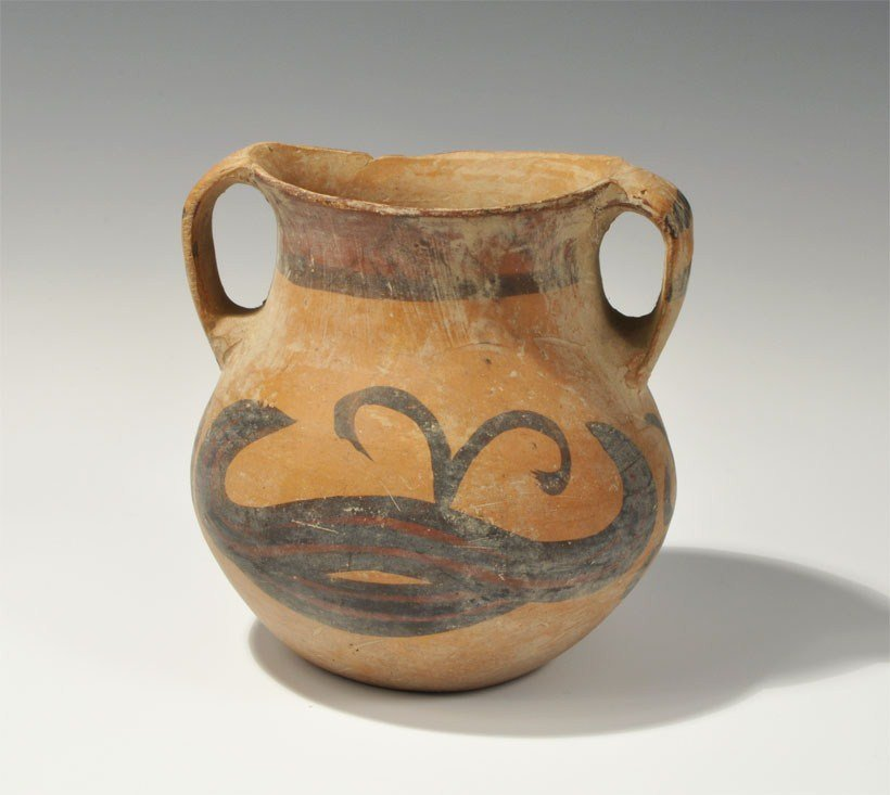 Chinese Neolithic Ceramic Painted Pot