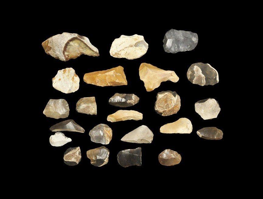 Stone Age British Flint Artefacts Group