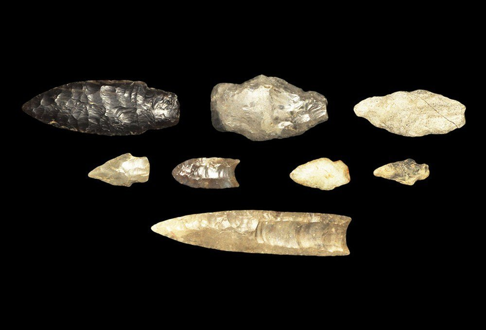 Stone Age North American Projectile Point Group