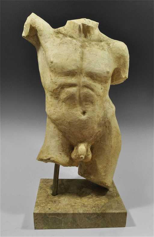 Greek Style Life Size Male Torso