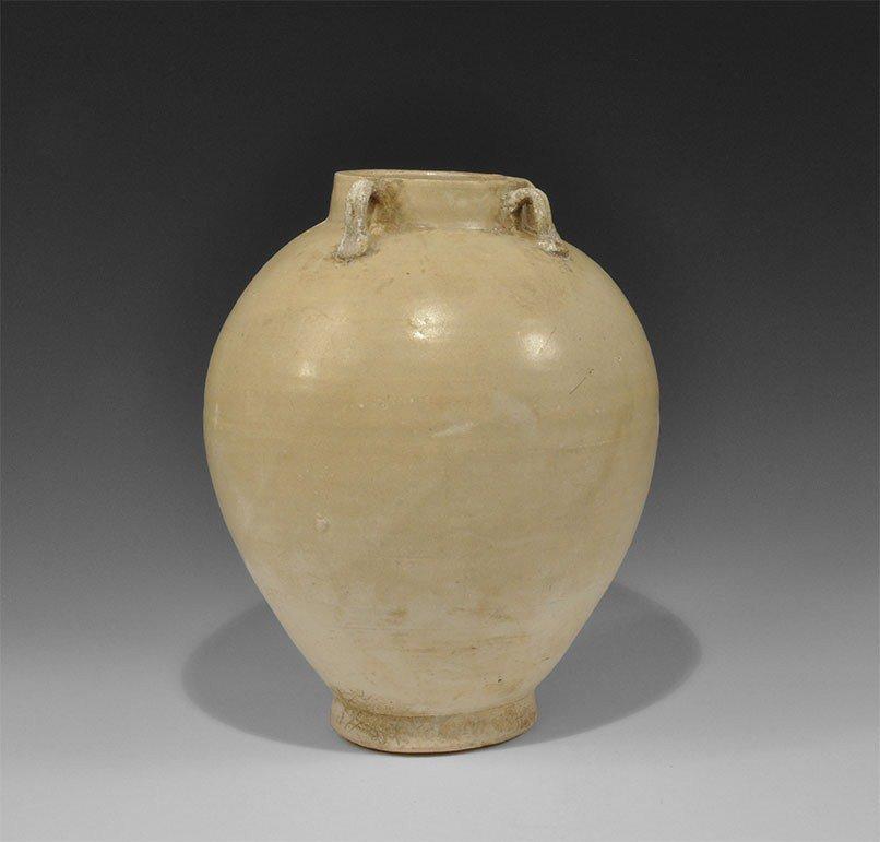 Chinese Ceramic Whiteware Jar