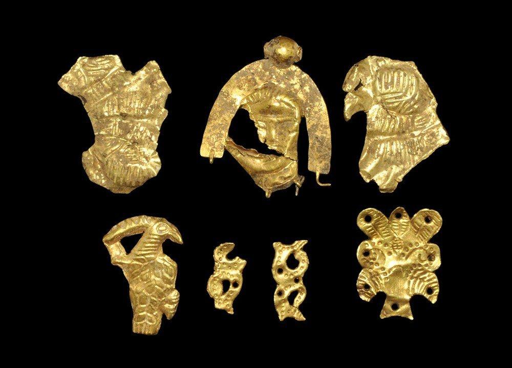 Near Eastern Scythian Gold Fragment Collection