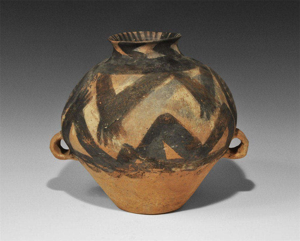 Chinese Neolithic Terracotta Painted Vase