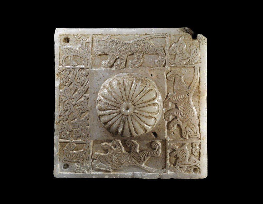 Islamic Alabaster Decorative Newel Cap