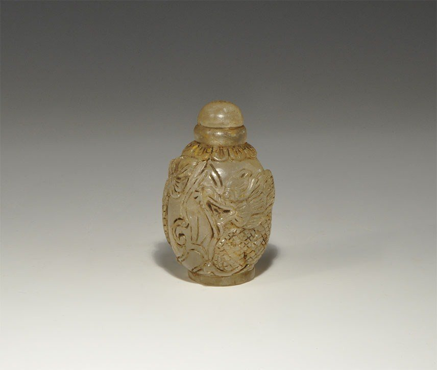 Chinese Crystal Vessel with Stopper