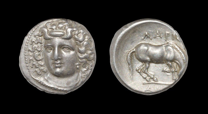 Greek Larissa - Drachm