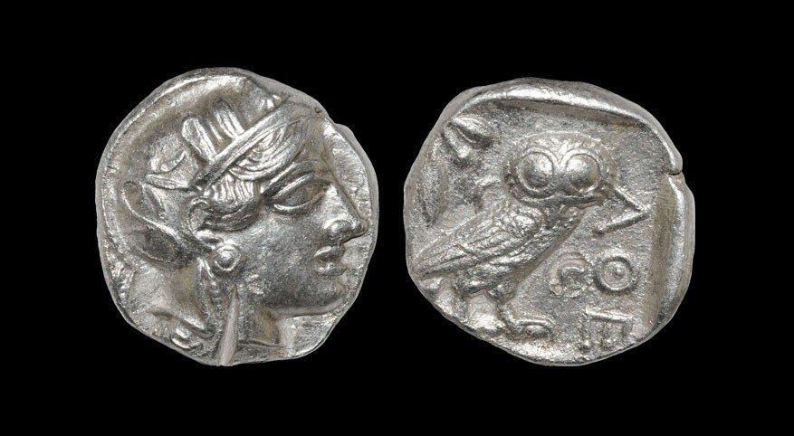 Greek Athens - Attica - Owl Tetradrachm
