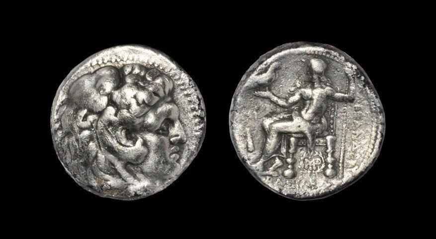 Greek Macedonia - Alexander III - Herakles Tetradrachm