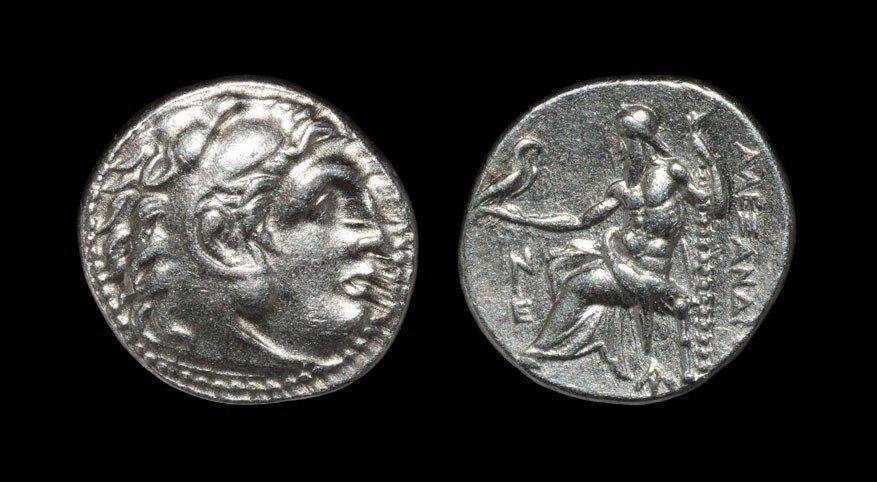 Greek Macedonia - Alexander III - Herakles Drachm