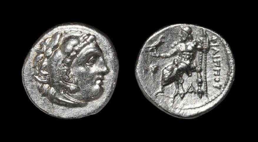Greek Macedonia - Philip III - Herakles Drachm