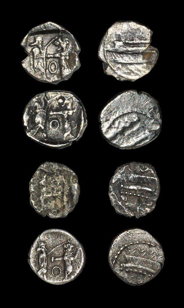 Greek Phoenicia - Sidon - Sixteenth Shekels [4]
