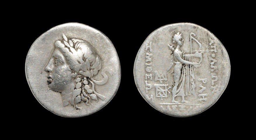 Greek Troas - Alexandria - Apollo Tetradrachm