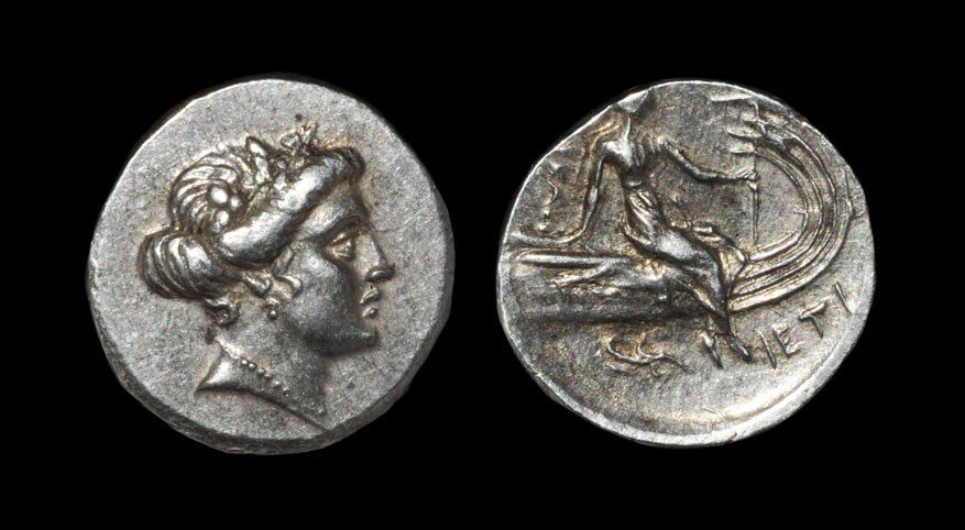Greek Euboia - Histiaia Tetrobol