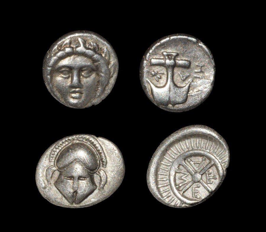 Greek Apollonia Pontica and Mesembria - Gorgoneion Diob