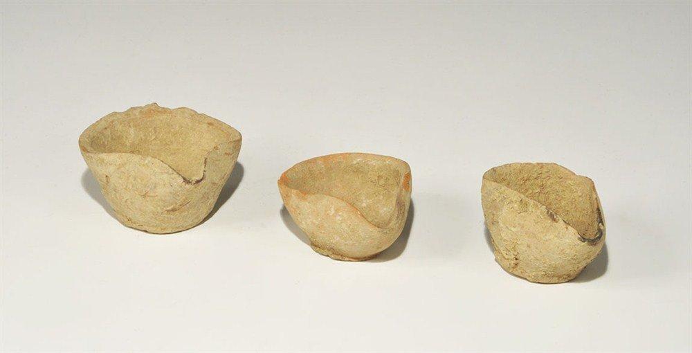 Bronze Age Ceramic Oil Lamp Group