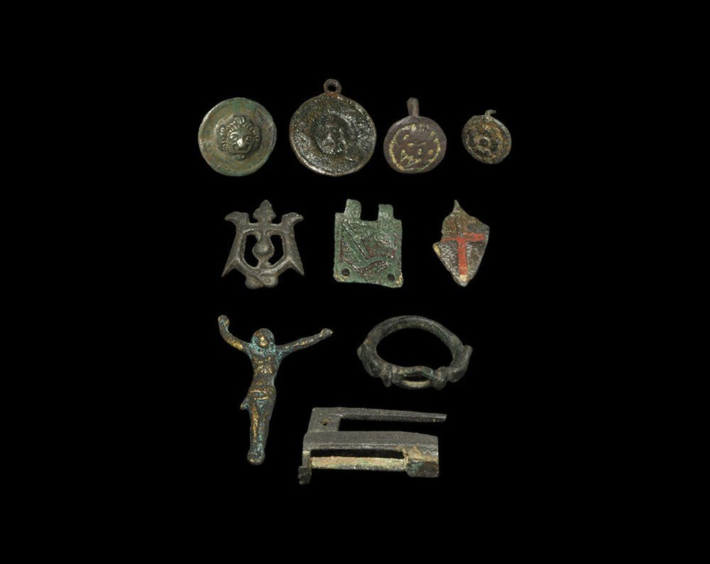 Medieval Bronze Artefact Group