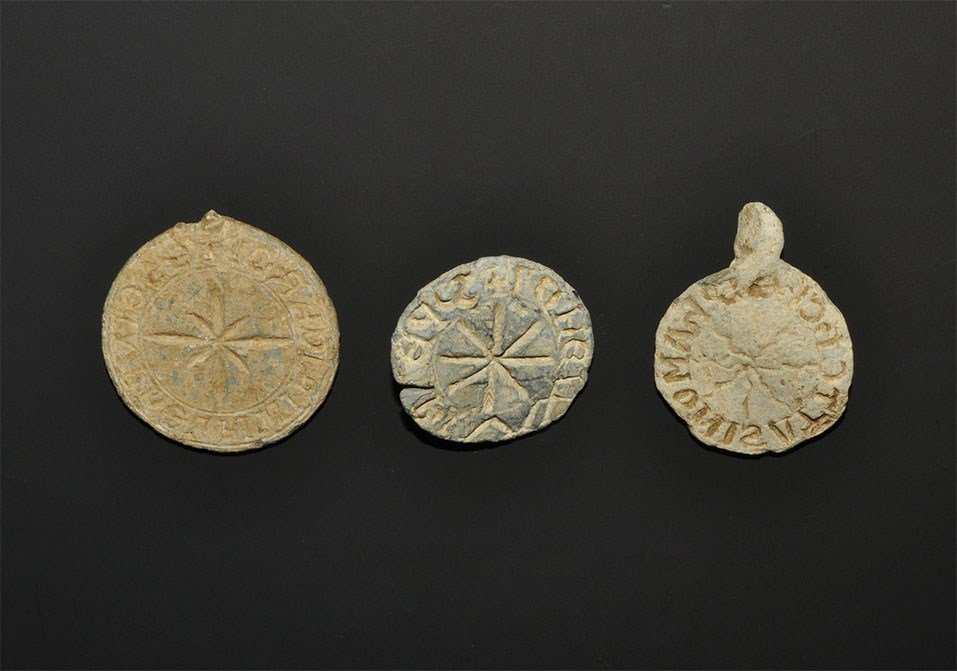 Medieval Lead Personal Seal Matrix Group