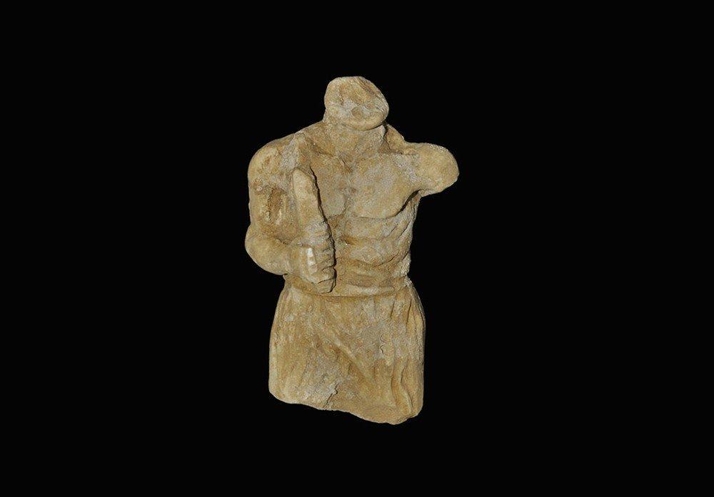 Roman Marble Gladiator Torso