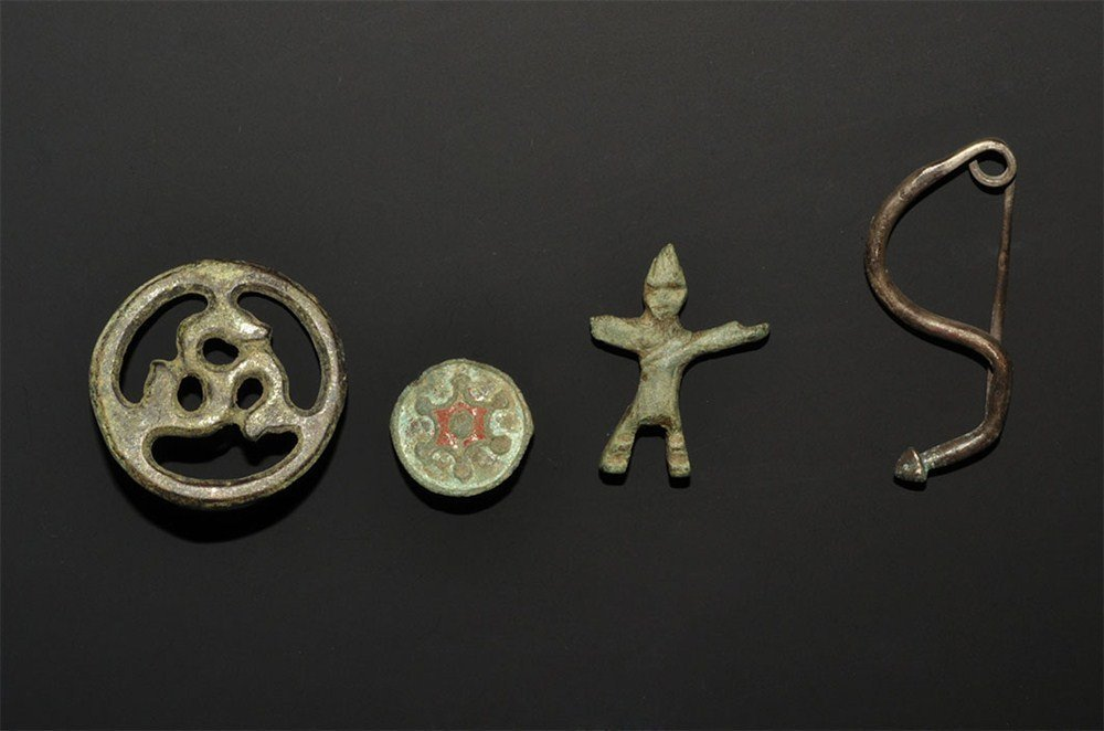 Iron Age Celtic Silver and Bronze Artefact Collection
