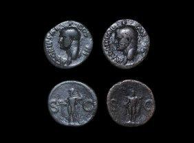 Roman Caligula - Agrippa - Neptune Ases [2]