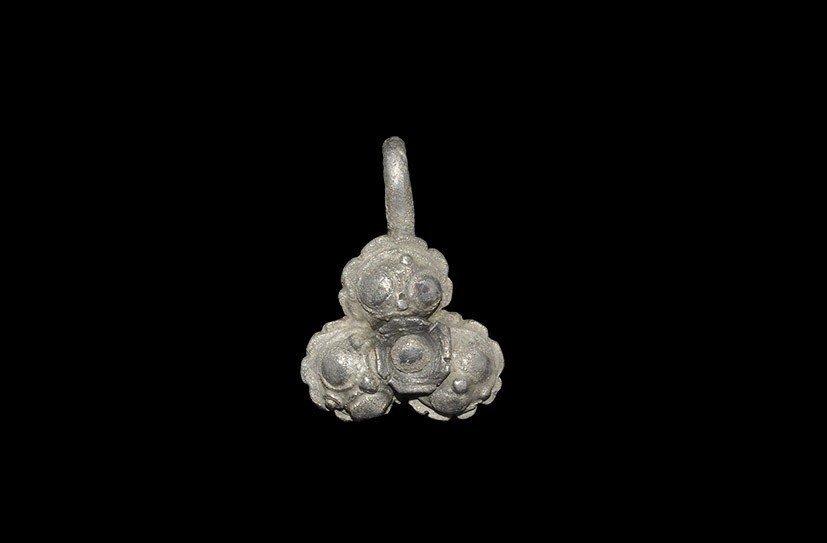 Post Medieval Tudor Silver Dress Hook