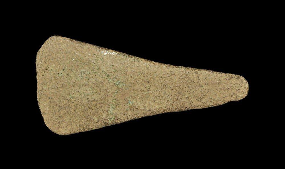 Bronze Age Copper Flat Axe