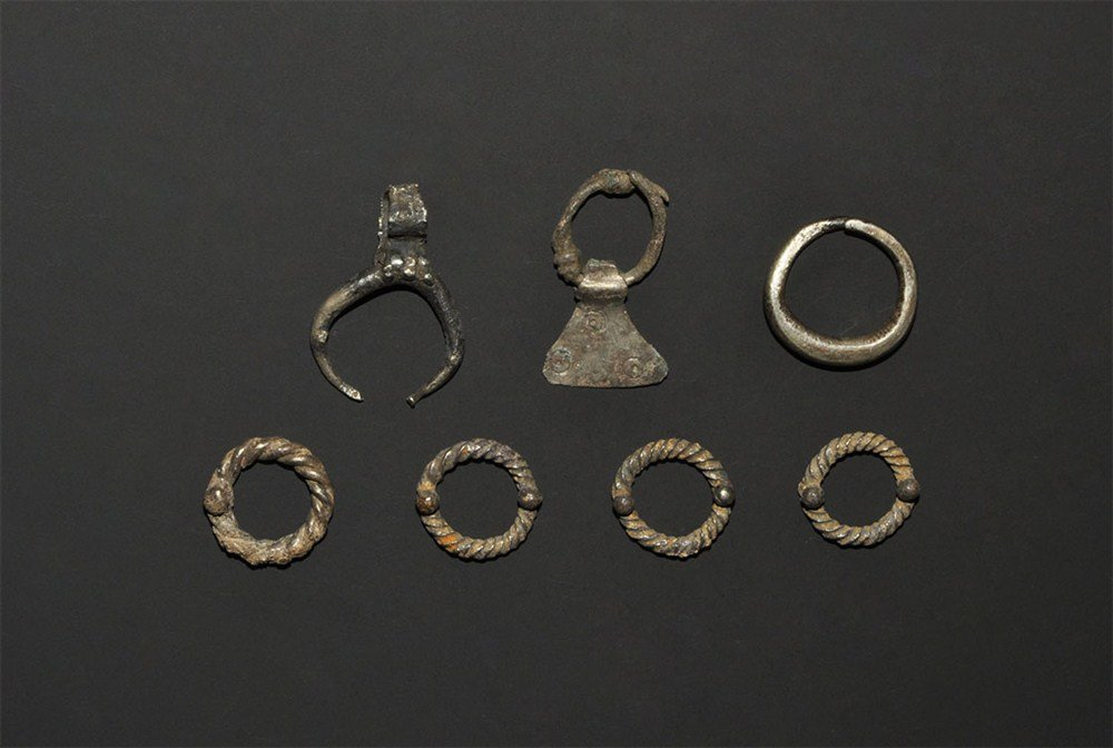 Roman and Celtic Silver Artefact Collection