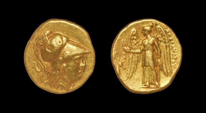 Greek Macedonia - Alexander III - Athena Gold Stater