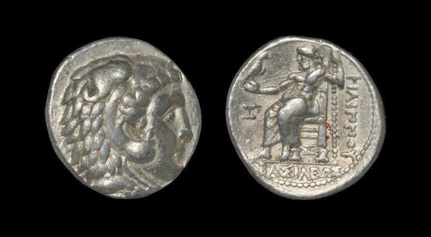 Greek Macedonia - Philip III - Zeus Tetradrachm