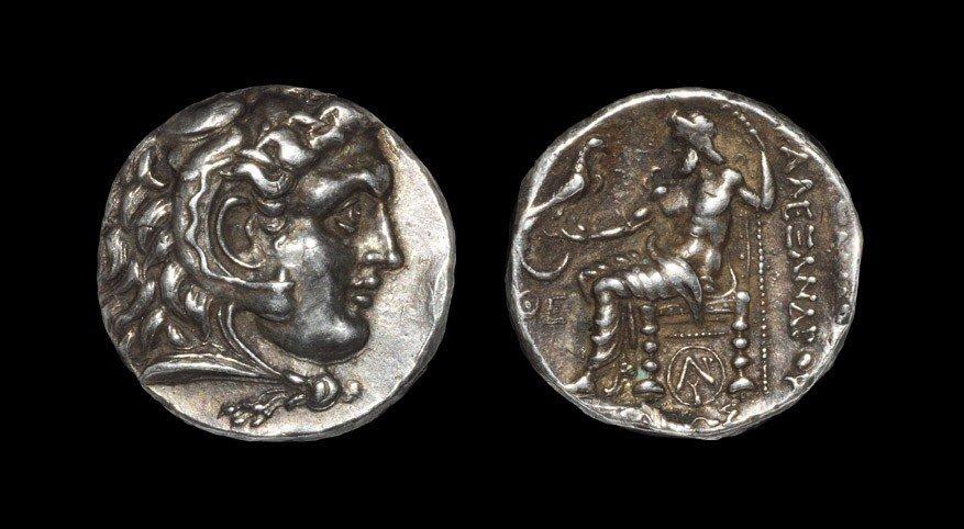 Greek Macedonia - Alexander III - Zeus Tetradrachm
