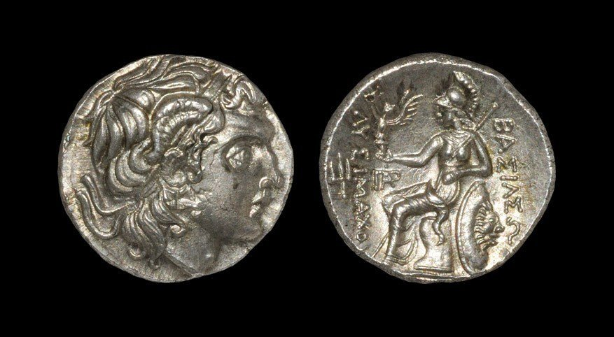 Greek Thrace - Lysimachos - Portrait Drachm