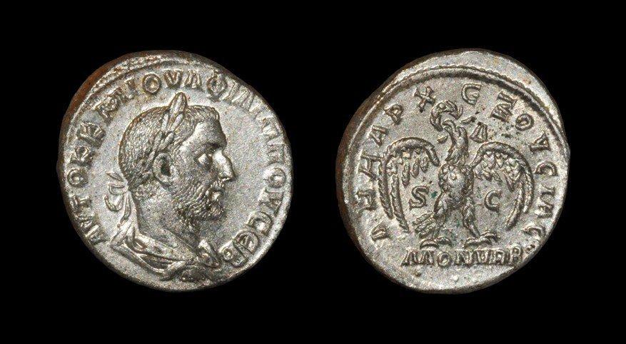 Greek Philip I - Antioch - Eagle Tetradrachm