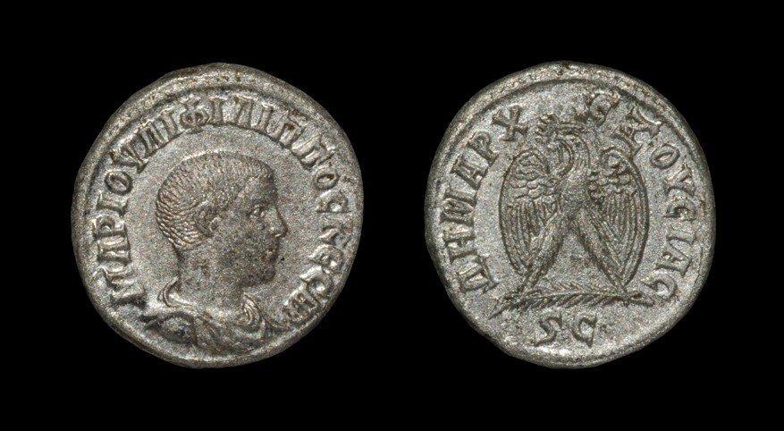 Greek Philip II - Eagle Tetradrachm