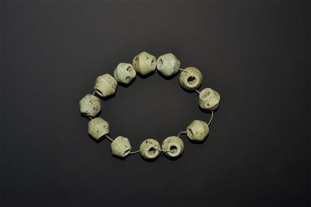 Bronze Age Glazed Composition Bead Group