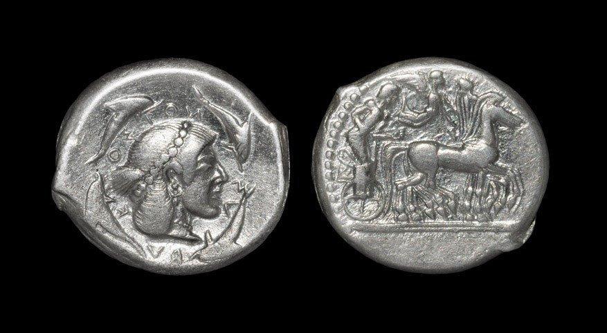 Greek Syracuse - Charioteer Tetradrachm