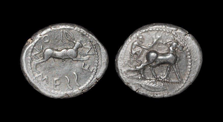 Greek Messana - Charioteer Tetradrachm