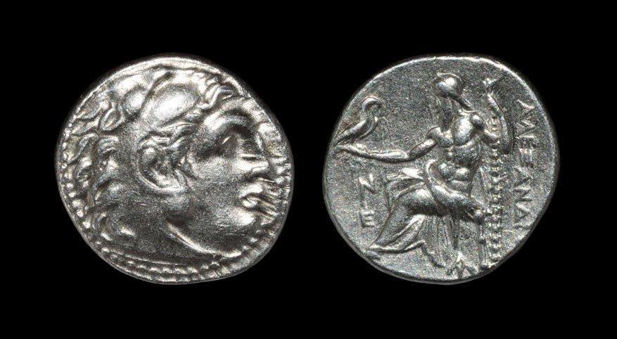 Greek Macedonia - Alexander III - Zeus Drachm
