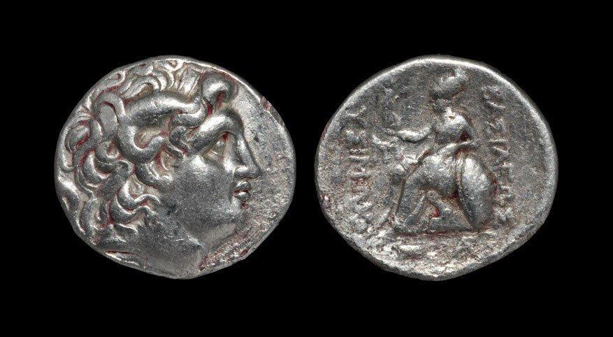 Greek Thrace - Lysimachus - Athena Tetradrachm