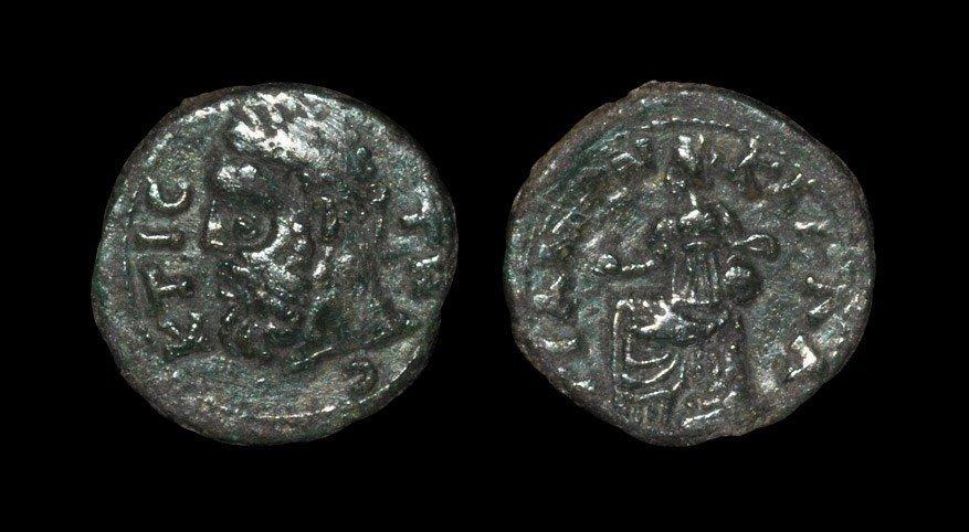Greek Thrace - Kallatis - Kybele Bronze