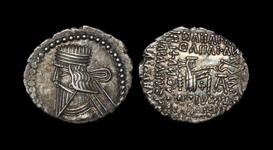 Greek Parthia - Mithradates IV - Drachm