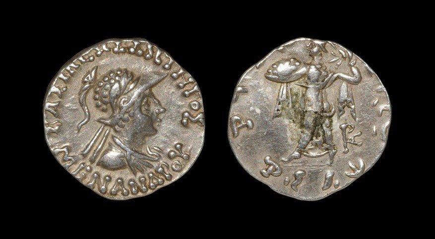 Greek Bactria - Menander - Drachm