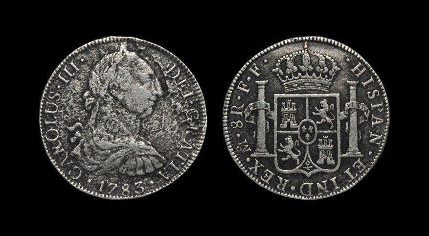 World Mexico - Charles III 1783 - El Cazador Shipwreck