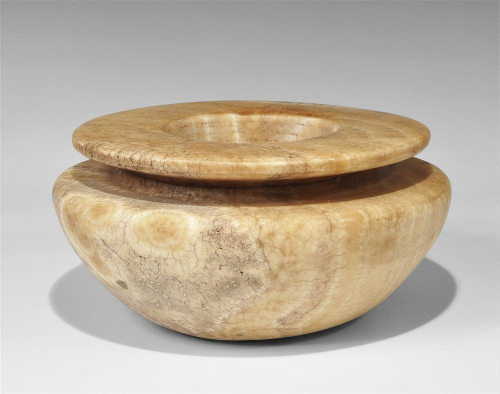 Egyptian Alabaster Vessel