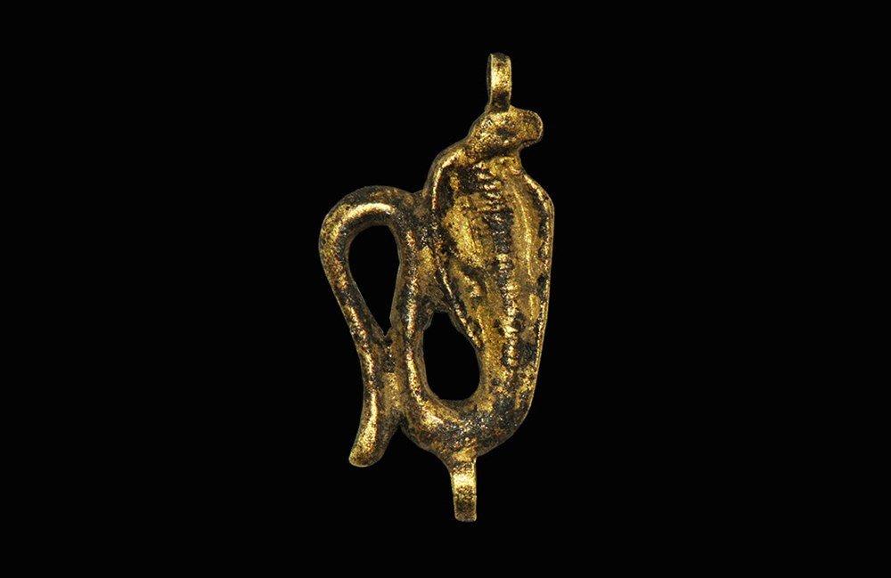 Egyptian Large Gold Amulet