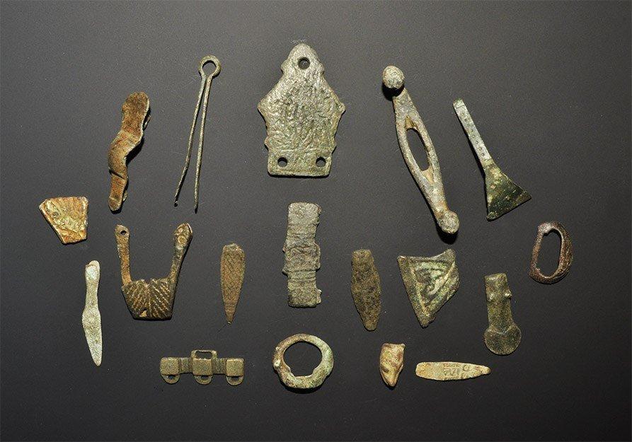 Saxon Norman and Viking Artefact Group