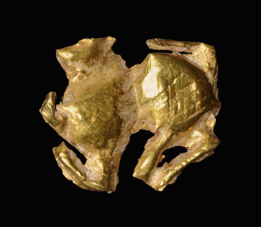 Near Eastern Scythian Gold Animal Applique